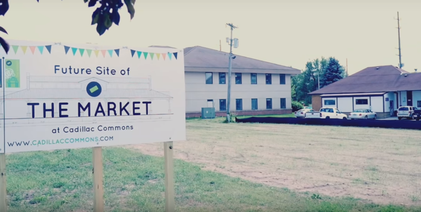Crowdfunding Campaign Launched for 'The Market at Cadillac Commons'
