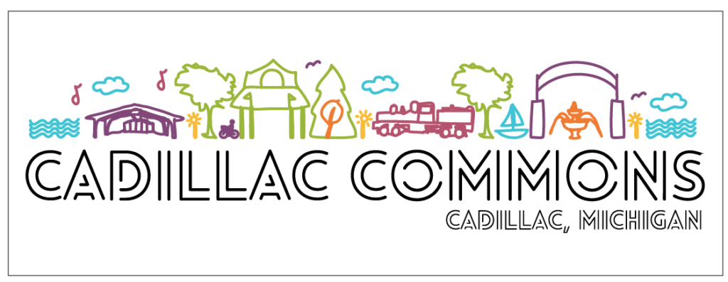 Cadillac Commons Window Decal