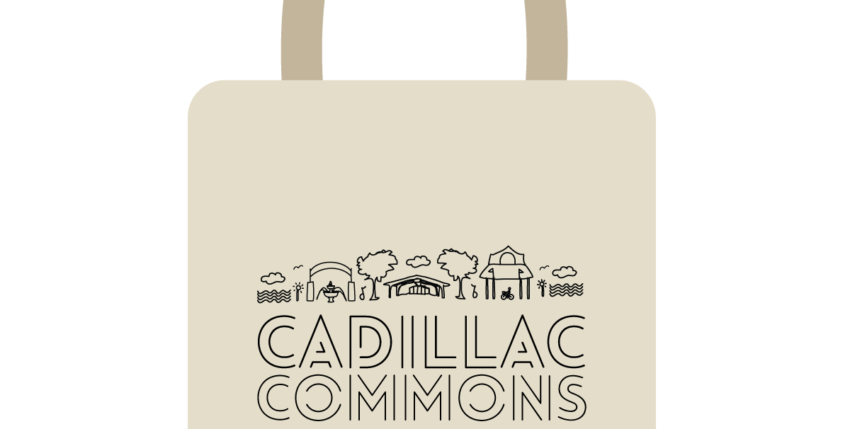 *NEW* Cadillac Commons Merchandise Rewarded as Fundraising Incentives for The Market